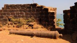 Ruins of Cabo De Rama Fort